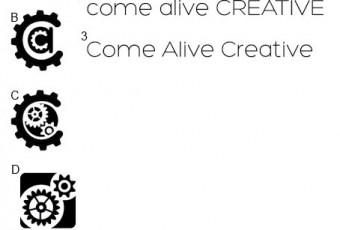Come Alive Creative Logo Choices