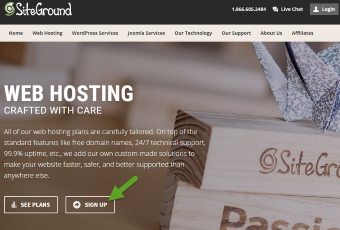 How to set up your web hosting with Siteground