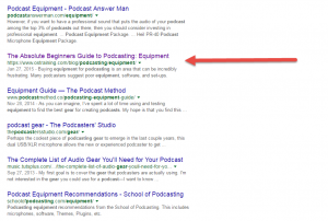 OSTraining post in Google