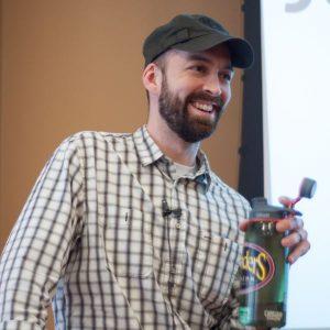 Jeff Large speaking at WordCamp Chicago